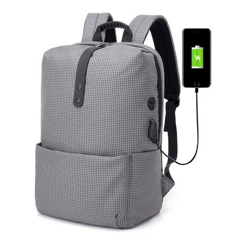 15/16″ Plaid Laptop Backpack