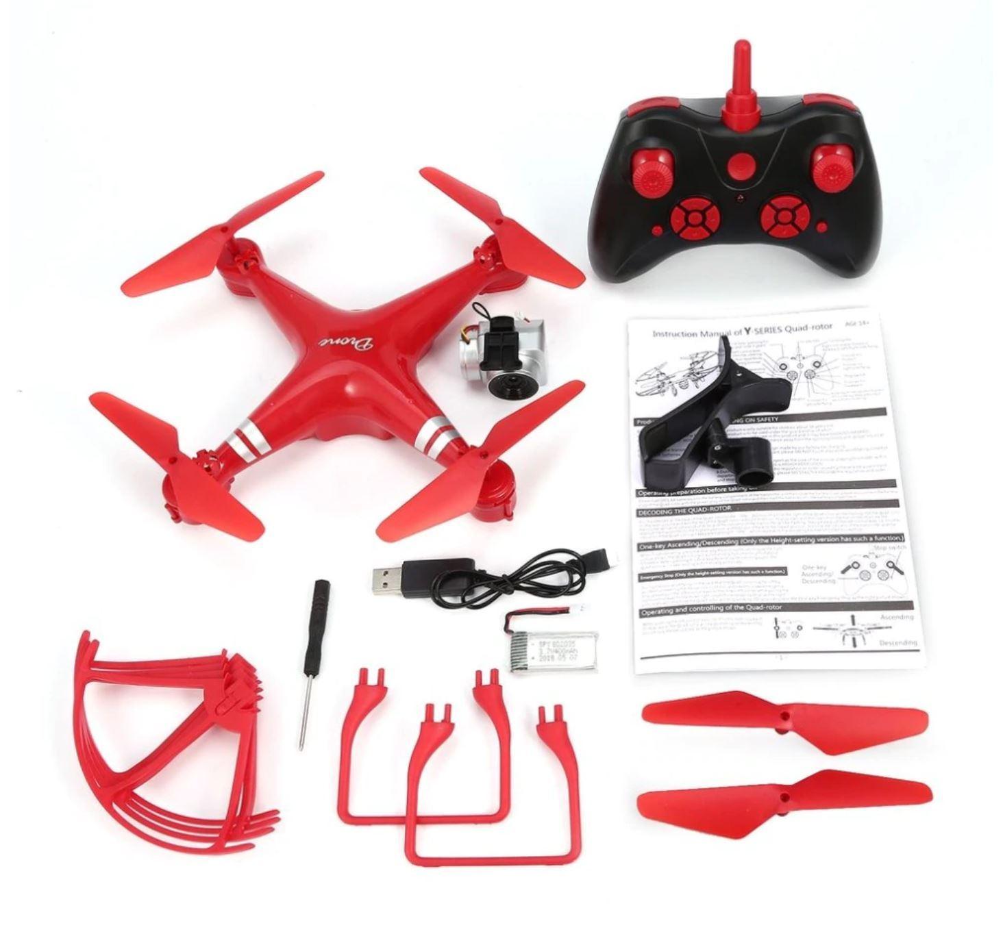 Ky 101s Drone Rc Quadcopter 1080p Camera