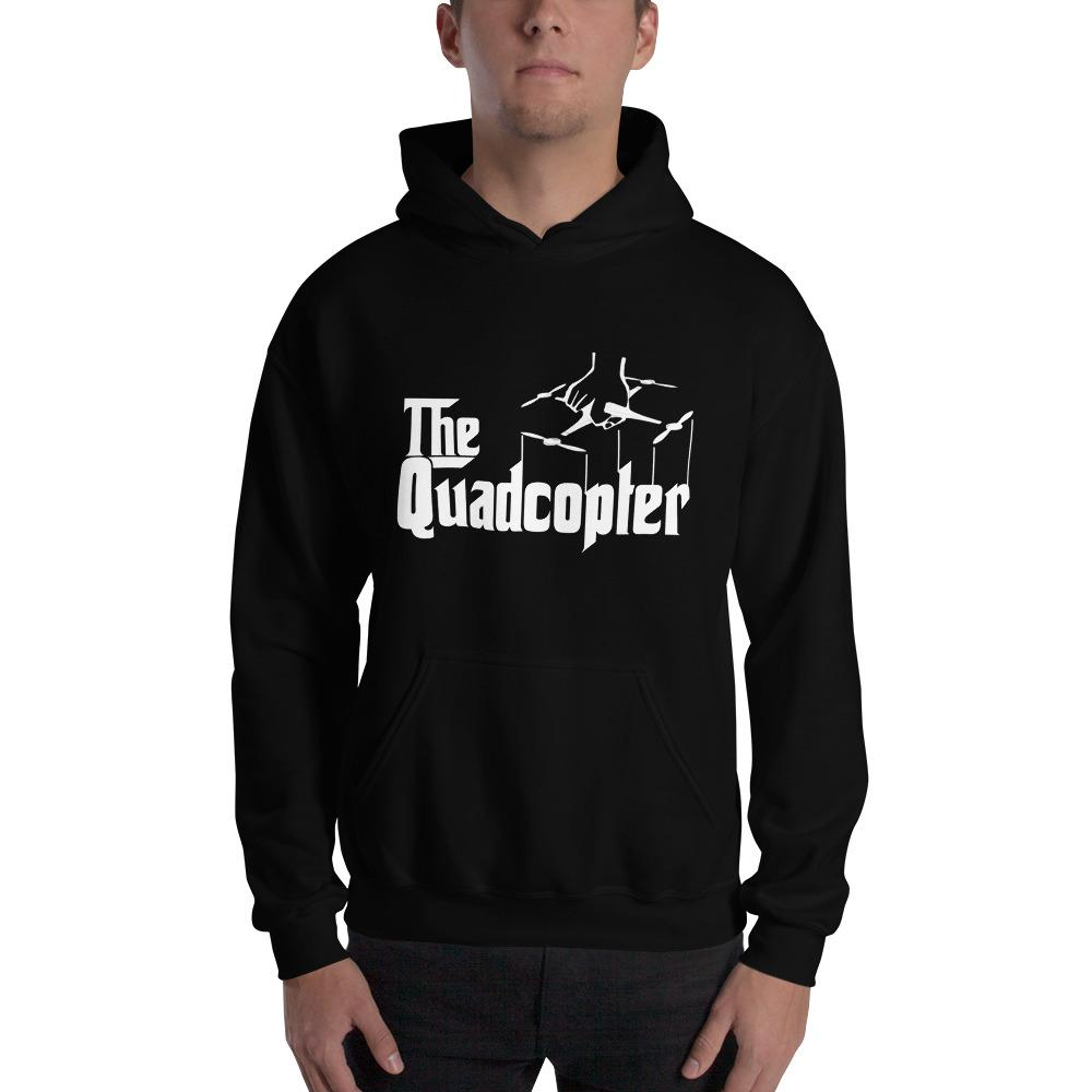 The Quadcopter Hooded Sweatshirt