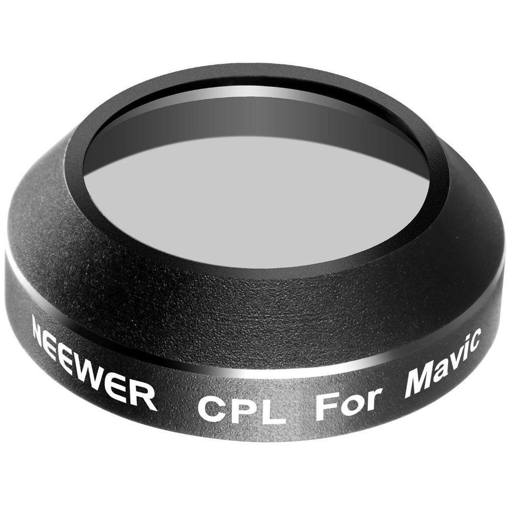 Aluminum Alloy Frame Circular Polarizer Lens (CPL) Filter for DJI Mavic Pro (1 Piece)