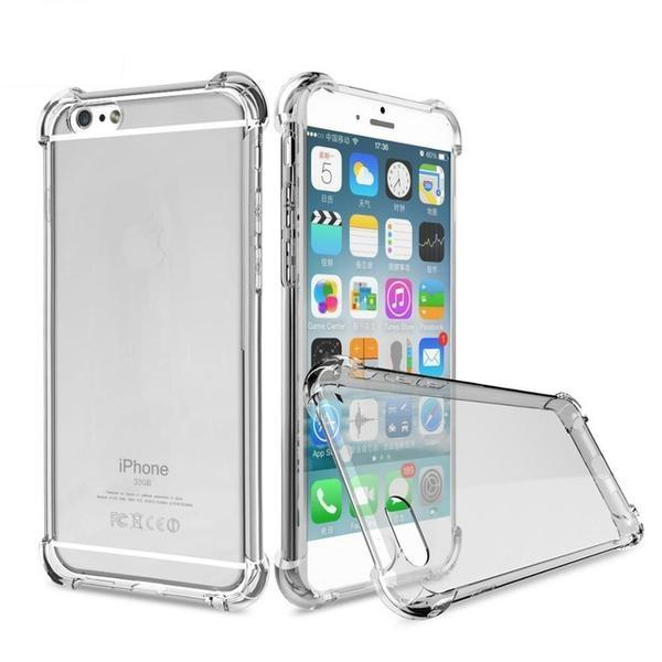 Clear Soft TPU Slim Shockproof Transparent Phone Cases For iPhones