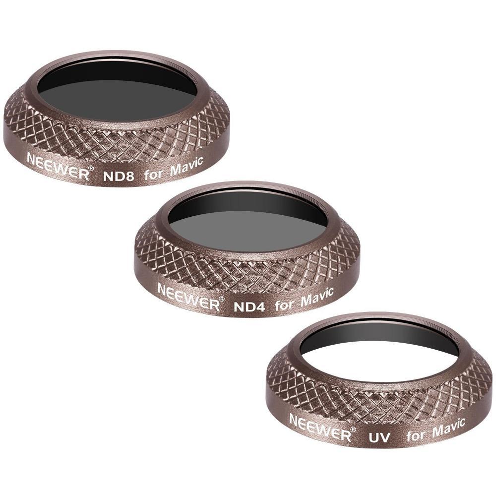 Gold Mixed Filter Kit for DJI Mavic Pro (3 Pieces)