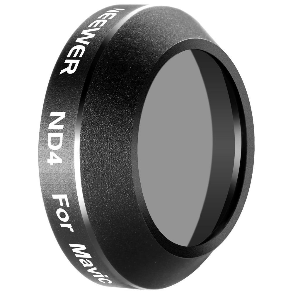 Aluminum Alloy Frame Neutral Density (ND4) Lens Filter for DJI Mavic Pro