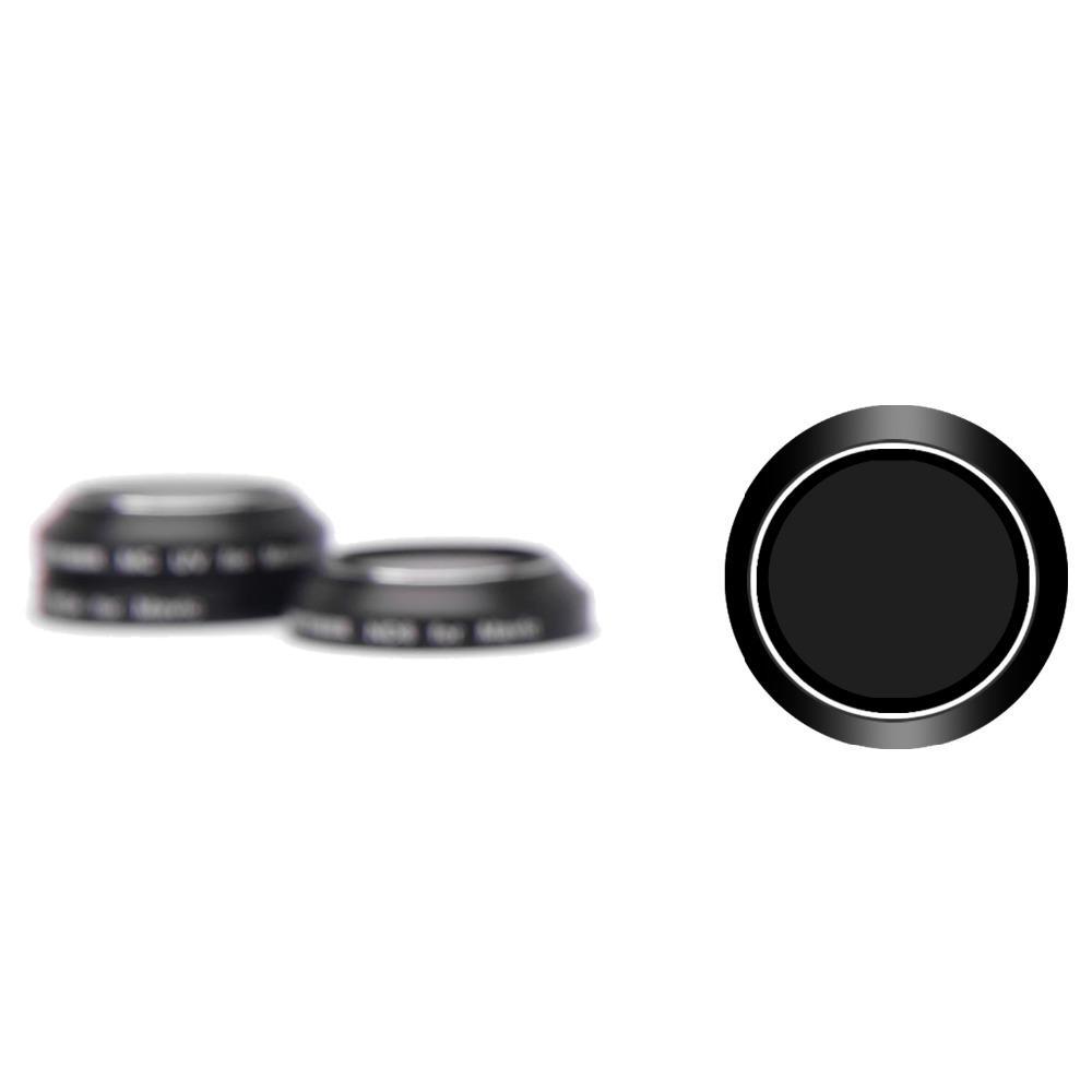 Black Aluminum Alloy Frame (ND) & (UV) Filter Kit for DJI Mavic (4 Pieces)
