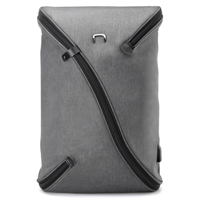 Slim Multipurpose (Business/Daypack/Rucksack) 15.6 Inch Laptop Backpack (GREY)