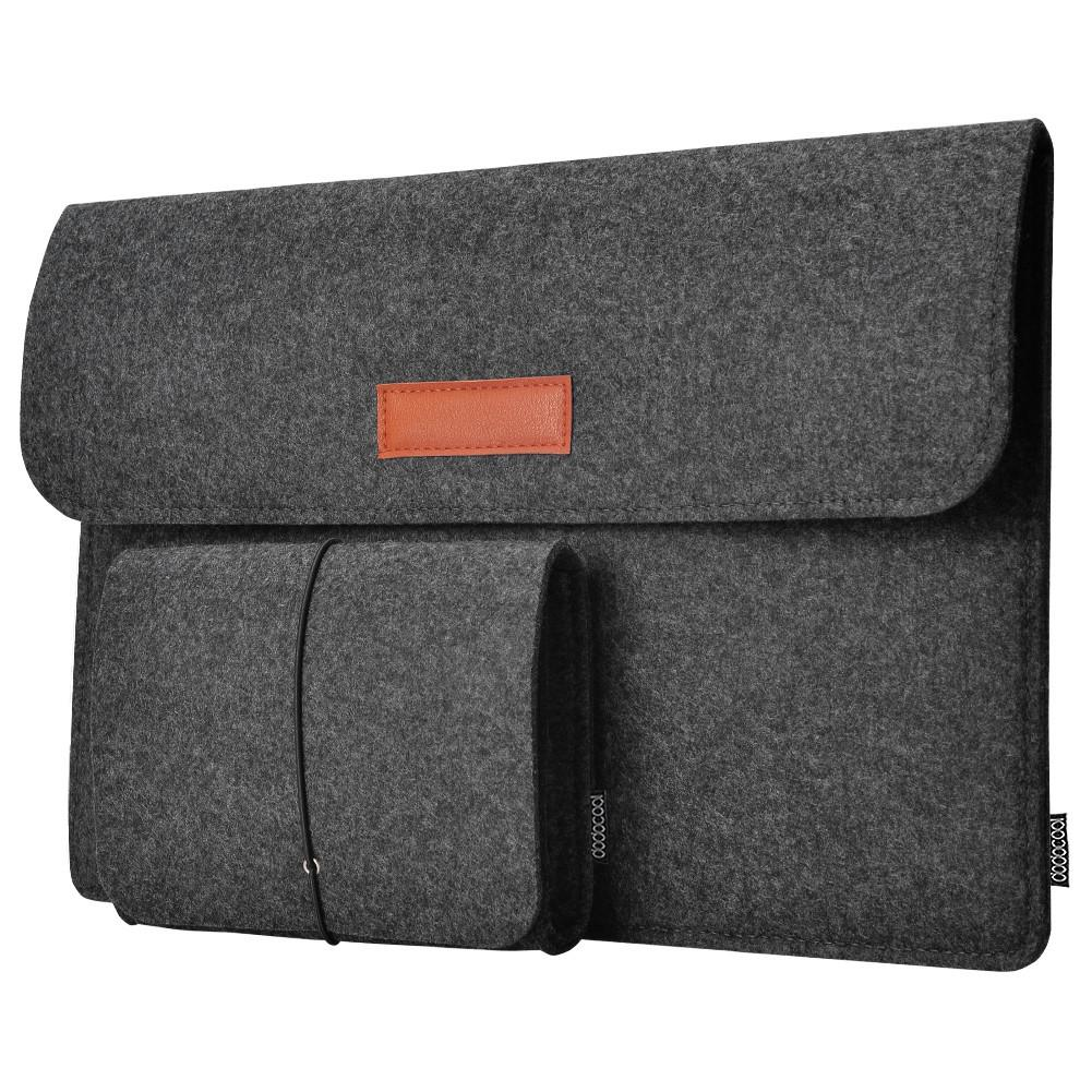 13.3-Inch MacBook Felt Sleeve Cover Carrying Case Protective Bag (2pc)