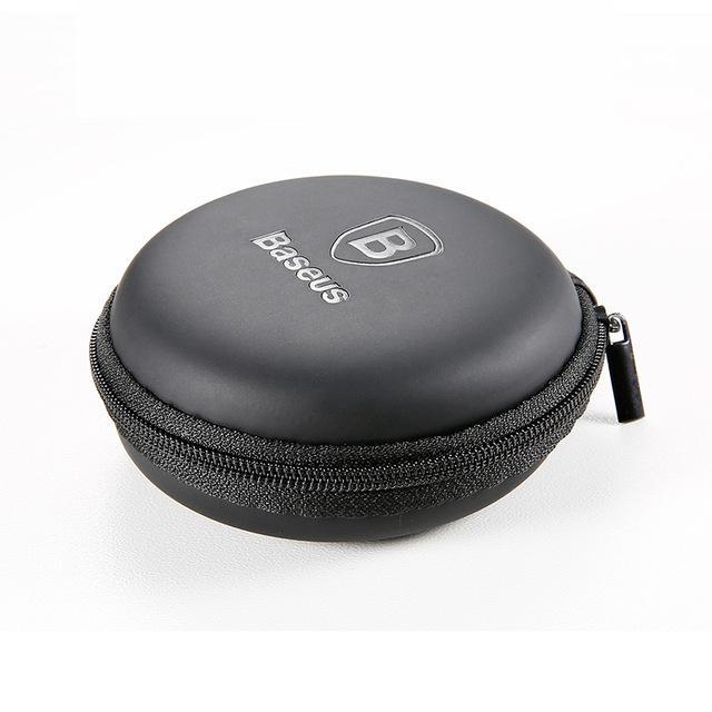 Portable USB Cable/ Earphone Hard Case Storage