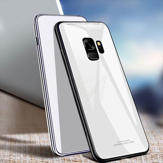 Full Tempered Glass Phone Case For Samsung Galaxy S9/S9 Plus/S8 Plus/Samsung Note 8