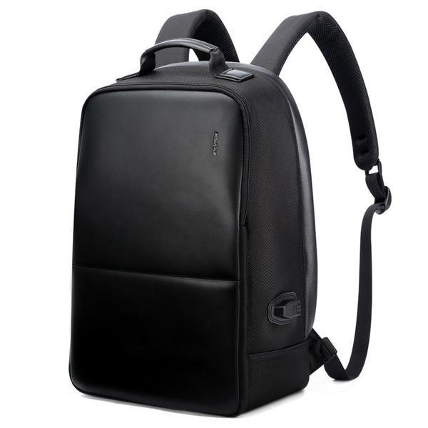 Black Anti-Theft Laptop Backpack