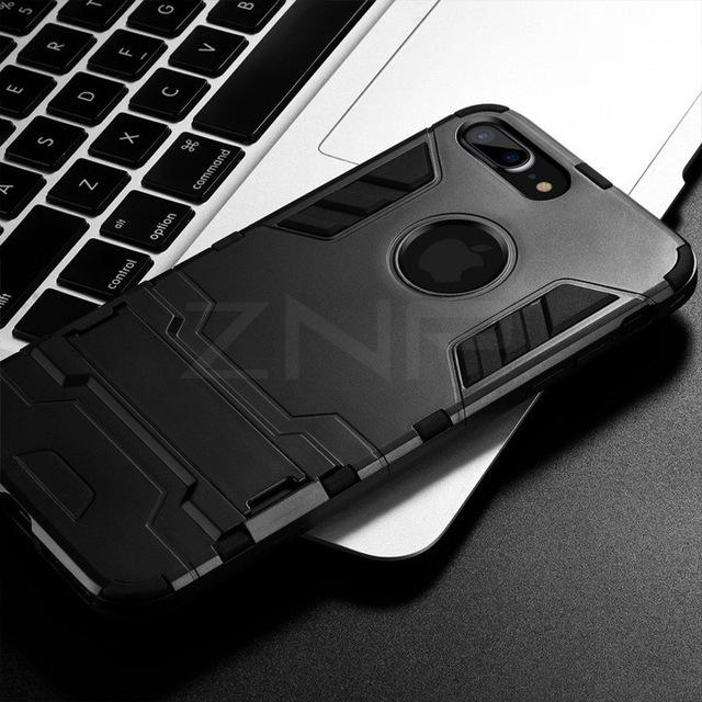 Full Shockproof Armor Phone Case For iPhone X/6/7/8/8 Plus
