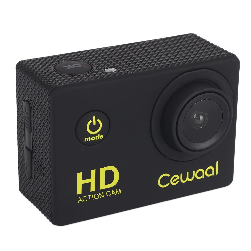 Cewaal 1080P Waterproof Sports Action Camera