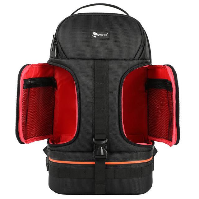Light Pro Waterproof + Shockproof DSLR Camera Backpack