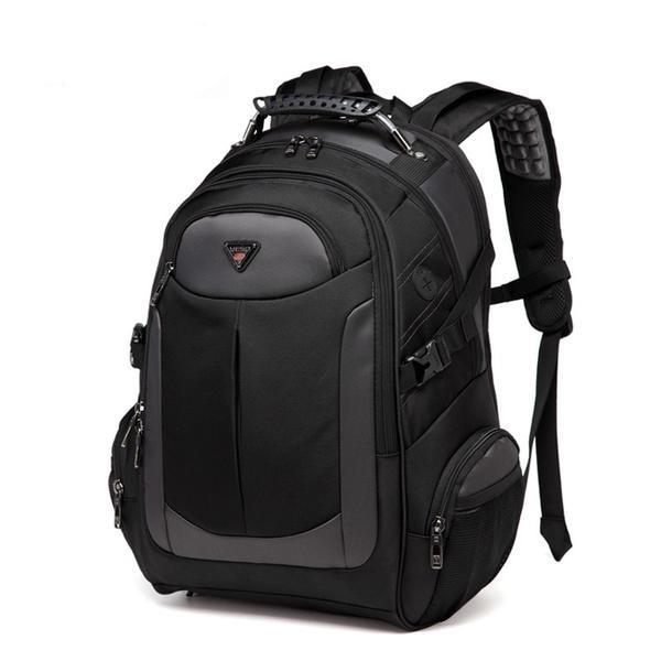 Black Multi-functional Professional Backpack