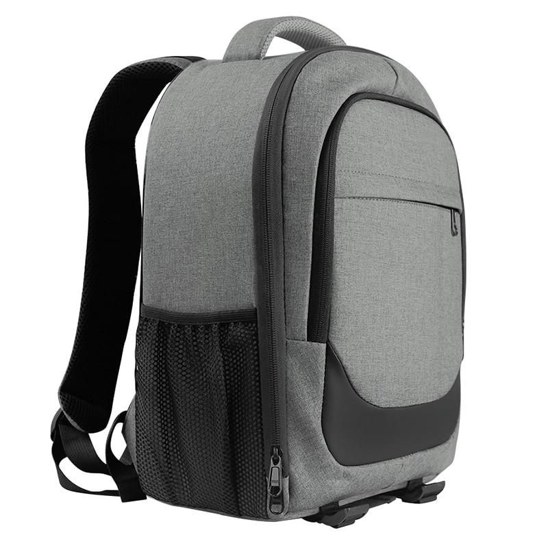 Heather Grey Compact Camera Backpack